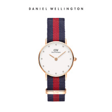 Daniel Wellington Classy Nato Watch Oxford Eggshell White 26mm