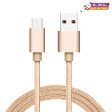 Android Micro USB Cable Fast Charging Nylon Braid Data Cable Charger For OPPO/VIVO/XIAOMI/Samsung