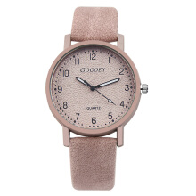 PEKY Ladies Watch Fashion Leather Watch Ladies Watch Clock