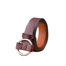 SiYing simple  Round buckle leather wild pants belt ladies