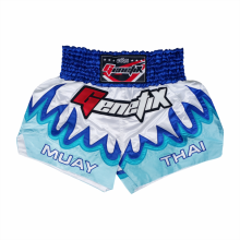 GENETIX MS0102 MUAY THAI SHORT Silver