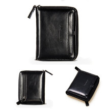 TOWER PRO New Baellerry Men's Vintage Fashion Luxury PU Leather Credit Card Holder Black