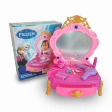 Mainan Anak Frozen Meja Rias Set Make Up Set 80852-1