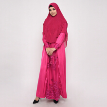 NAFEESA Dress Azkadina Pink Others All Size