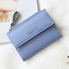 Keness 1610 Hot Fashion Women's Purse  Zipper Women's Wallet Ladies PU Leather Wallets Female Purse Mini Card Case Cheap Womens