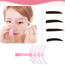 Farfi Grooming Makeup Shaping DIY Beauty Eyebrow Template Cosmetic Stencils Tool as the pictures