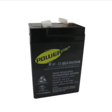 Powerplus Baterai Emergency Lamp 6V4,5AH (Battery Emergency Lamp 6V4,5AH)