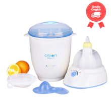 Crown 6 In 1 Steaming Centre Color Blue White Age 0M+