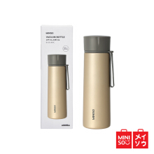 Miniso Official Screw-on Vacuum Bottle With Tea Strainer