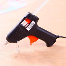 Aosen Professional 20W 7mm Heating Hot Melt Glue Gun Art Repair Tool Black
