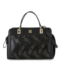 GOBELINI Bianca Satchel Perforated Black Ladies [AR10301009070]