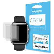 SPIGEN Apple Watch 3 2 1 Screen Protector Film Crystal (38mm)
