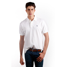 POLO RALPH LAUREN - Classic-Fit Lacoste Polo Shirt White Men