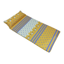THE LUXE Sleepmaker camping Mat -orange teddy 90x190