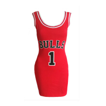 Jantens 2018 female letter sports summer dress