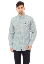 COTTONOLOGY Men's Shirt Stanley Green