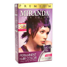 Miranda Hair Color Premium Rose Purple 30 Ml Purple