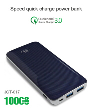 JGT Power Bank Fast Charging 10000 mAh - JGT 017