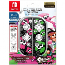 Splatoon Joy con Hard cover for Switch - Squid Black