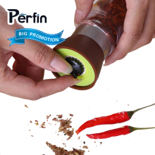 Perfin Handy Salty Pepper Grinder Pepper Grinder Seasoning Grinder Manual Kitchen Tools Pepper Shaker Kitchen Utensils Gadget