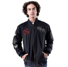 G-SHOP - MEN SWEATER JAKET HOODIES DISTRO PRIA - JNL 1349 - NAVY  SIZE- M