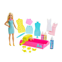 BARBIE Crayola Color Magic Station & Playset FPW10