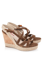 Pre-Owned Prada Suede Wedges
