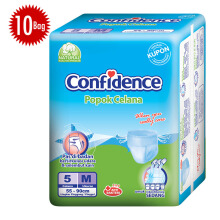 CONFIDENCE Adult Pants [M] Carton 5's x 10 bag