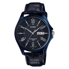 Casio Standard MTP-1384BUL-1AVDF - Enticer Series - Gents - Leather Strap [MTP-1384BUL-1AVDF] - Black
