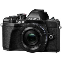 [free ongkir]Olympus OM-D E-M10 Mark III kit 14-42mm f/3.5-5.6 EZ - Black