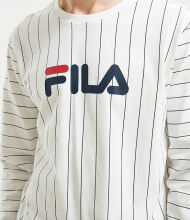 FILA Men's Mario Long Sleeve Tee - White - XL