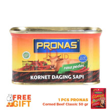 PRONAS Corned Beef Chili 198g