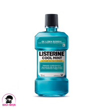 LISTERINE Cool Mint Antiseptic Mouth Wash Obat Pembersih Mulut 750 ml