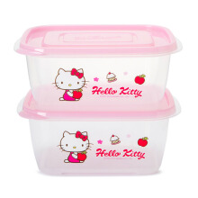 LOCK & LOCK Hello Kitty Apple E-Z Lock 520ml (isi 2 pcs) LKT804