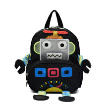Wei's Girl Pack Robot Anti-lost Backpack B-FY8310