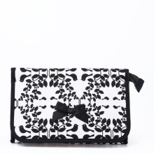 Naraya Printed Bag with Mirror NB-60/L CP95 White Black