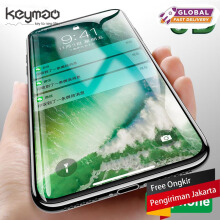 Keymao Apple Iphone X 5D screen protector Tempered Glass Full Cover Hard