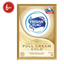 FRISIAN FLAG Susu Kental Manis Full Cream Gold Sachet 40g x 6s