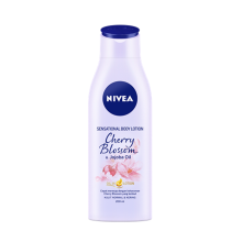 NIVEA Body Oil Lotion Senses Cherry Blossom 200ml