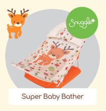 CROWN Super Baby Bather - Nordic Reindeer