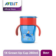 AVENT SCF782/20 9m+ Grown Up Cup - Red-Blue