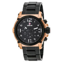 Expedition E 6605 MC BBRBA Man Chronograph Black Dial Stainless Steel [EXF-6605-MCBBRBA]