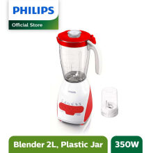 Philips Blender Plastik 2L HR2115/60 - Merah