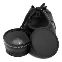 [COZIME] 52MM 0.45 x Wide Angle Macro Lens for Nikon D3200 D3100 D5200 D5100 Others