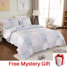 VINTAGE STORY Shabby Bed Cover Set Korea Size Single 150x200 cm/A02B150