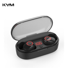 KYM J29 Bluetooth 5.0 TWS Mini Wireless Ear buds Twins Earphone With Battery Case Charging Box Battery Display Headset