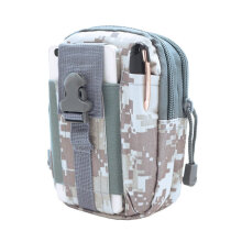 [COZIME] Outdoor Tactical Waist Bag Molle Waist Bag Pouch EDC Utility Waist Belt Black Jungle Camouflage1