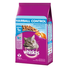 Whiskas Adult Hairball Control 1,1 Kg Makanan Kucing Whiskas Hairball Control Dry Food 1.1 Kg