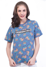 TENDENCIES TSHIRT BLUE TEES - BLUE Blue S