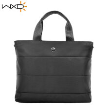 COZIME 13inch Business Laptop Handbag Waterproof Tote Notebook Storage Bag Briefcase Black